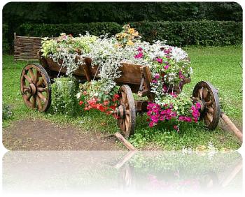 Оформление малого сада - создание живописных композиций